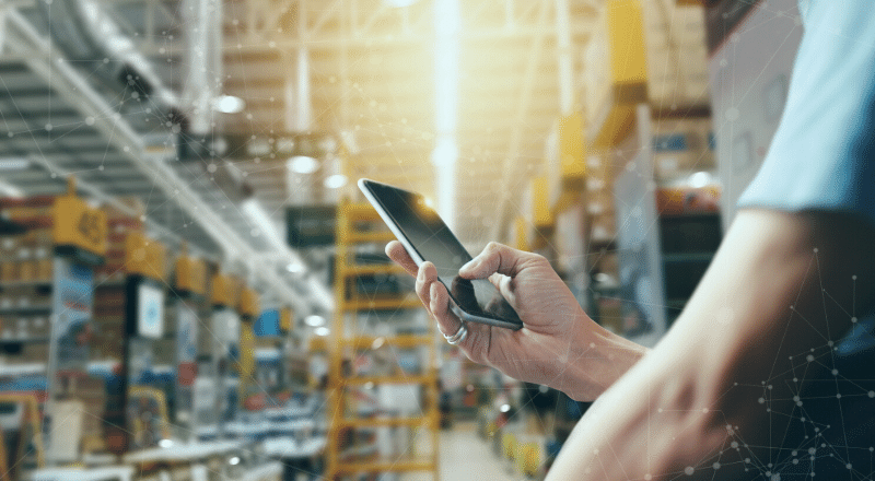 Cloud ERP SAP Business ByDesign Lagermanagement scan4cloud scan Add On App Automatisiert Digitalisierung