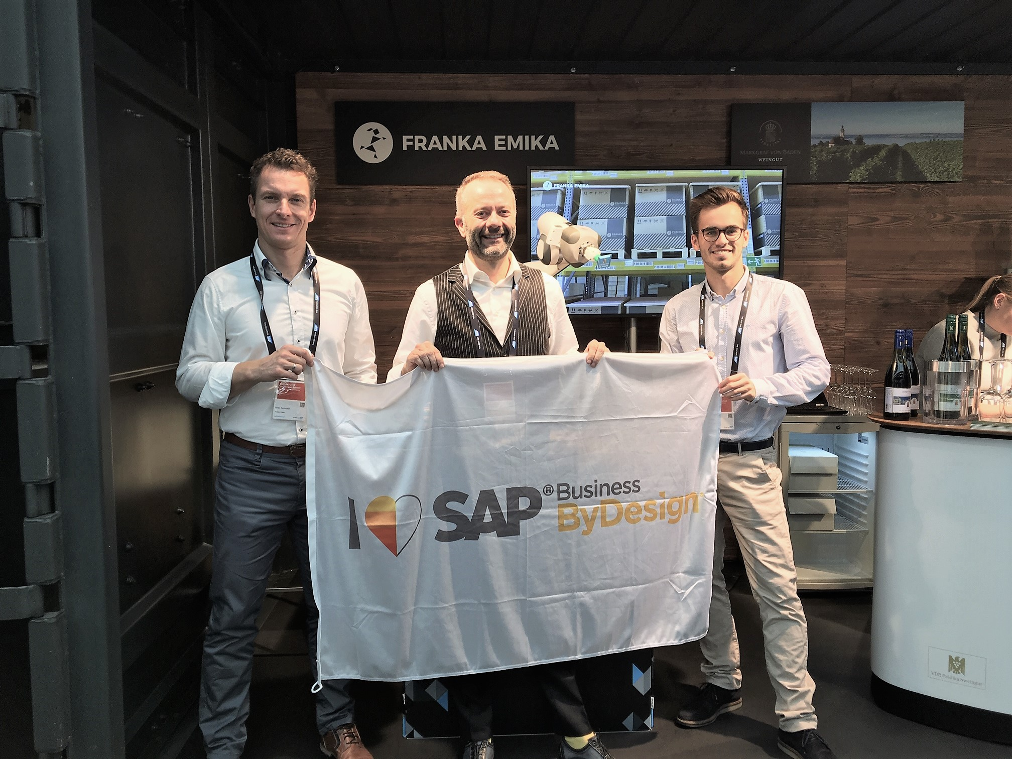SAP Business ByDesign all4cloud Kunde Franka Emika Cloud ERP Erfolg success story