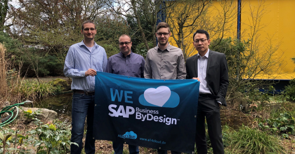 SAP Business ByDesign all4cloud Kunden Workshop Schulung Erfolg Cloud ERP
