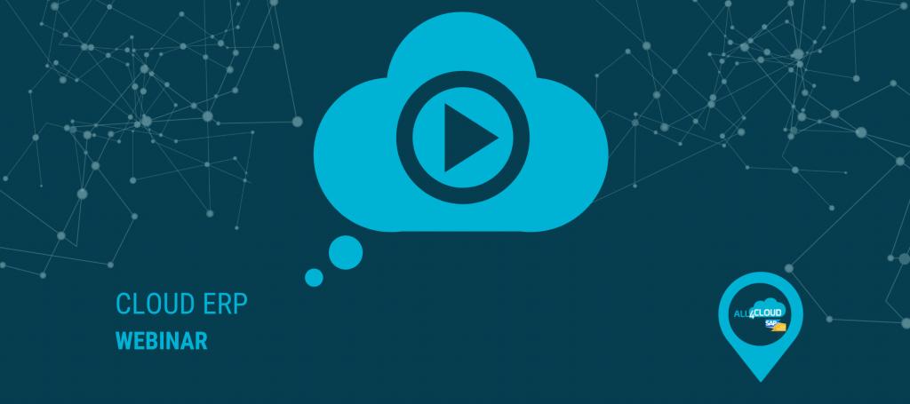 webinar sap cloud erp business bydesign all4cloud online event